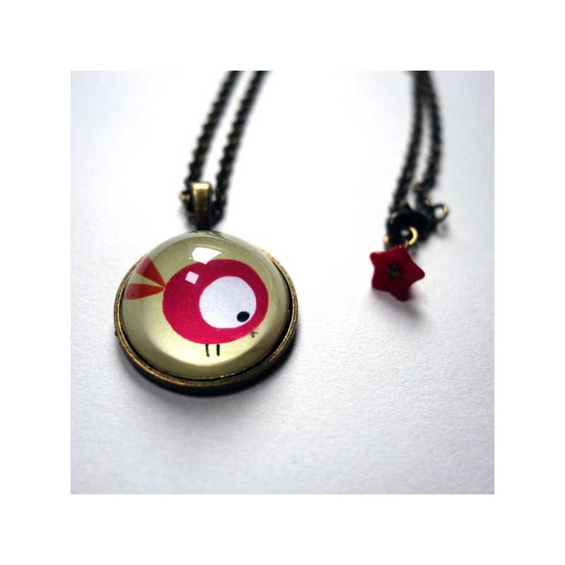 Collier Le touron rouge
