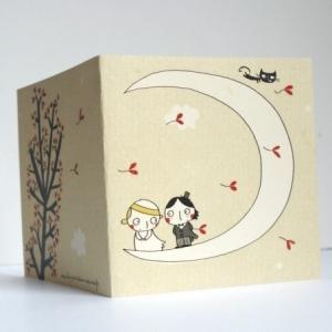 Carte Les petits mariés