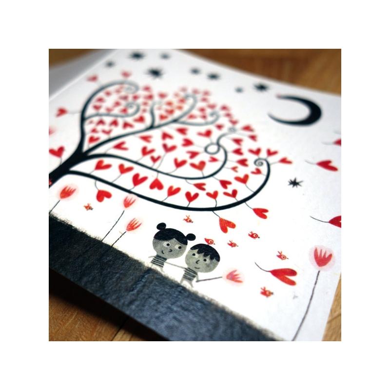 Carte Les amoureux
