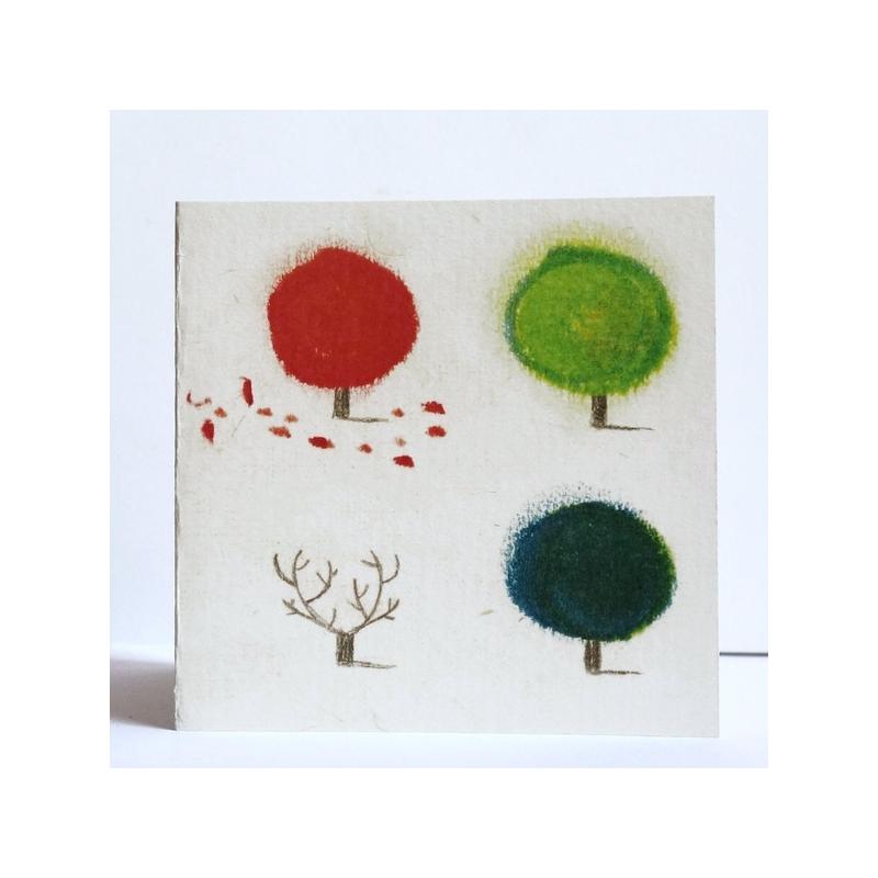 Carte L'arbre des quatre saisons