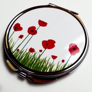 Miroir de poche Coquelicots
