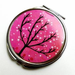 Miroir de poche Arbre pétillant