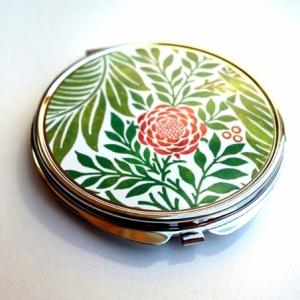 Miroir de poche Pivoine rose