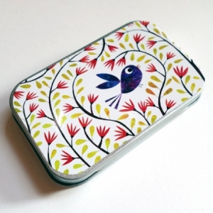 Boîte à miscellanées Bel oiseau bleu