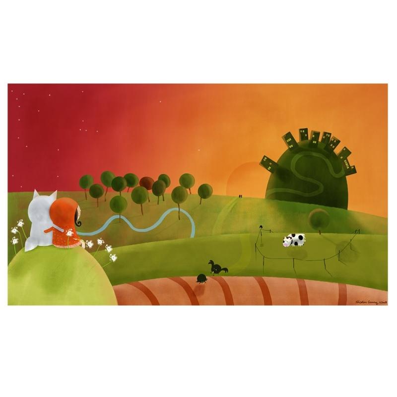Affiche La colline aux amoureux