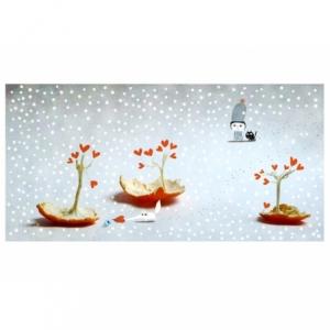 Affiche Il neige sur le verger des clémentines