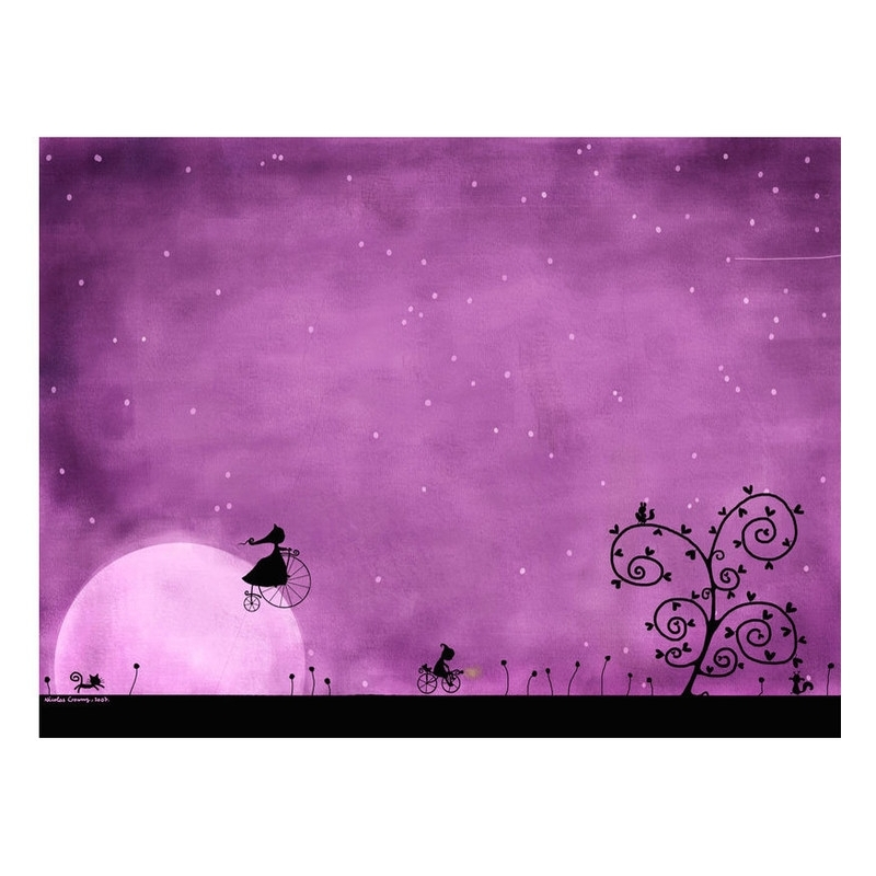 Affiche Lever de lune