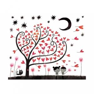 Affiche Les amoureux