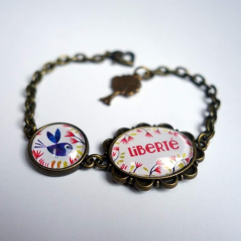 Bracelet d'intention Bel oiseau bleu