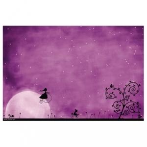Affichette Lever de lune