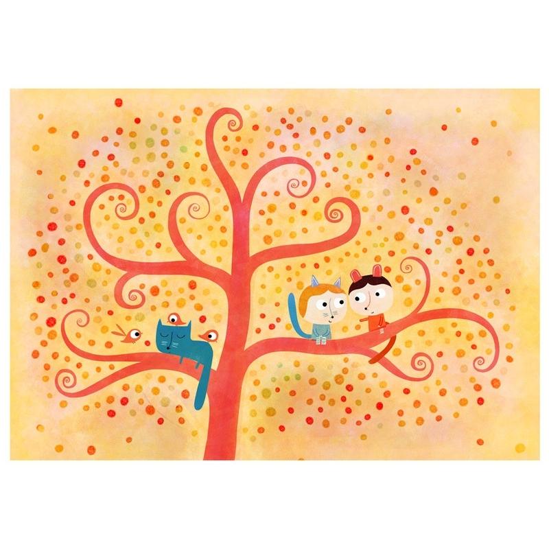 Affichette L'arbre des amoureux