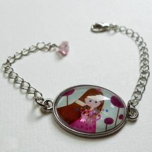Bracelet enfant Brassée de fleurs