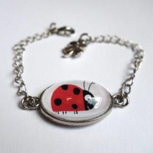 Bracelet enfant Coccinelles
