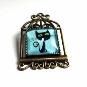 Broche Le chat Lothaire
