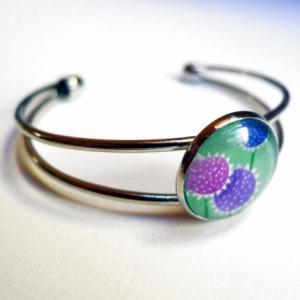 Bracelet Fleurs rondes