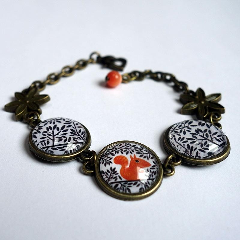 Bracelet L'écureuil