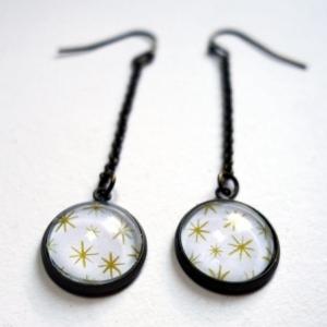 Boucles d'oreilles Étoiles d'or