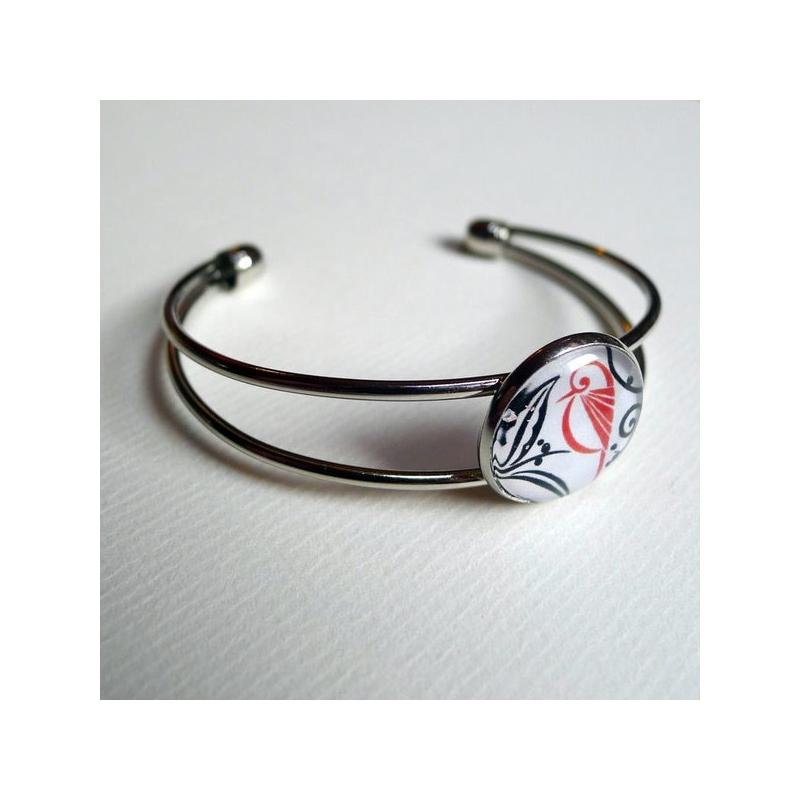 Bracelet Oiseau rouge
