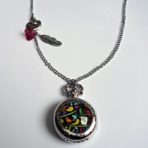 Collier montre Oiseaux polonais