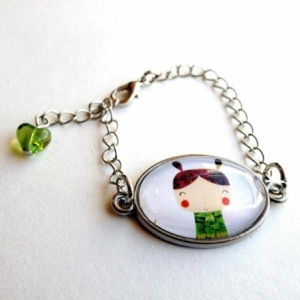 Bracelet enfant La petite Kokeshi