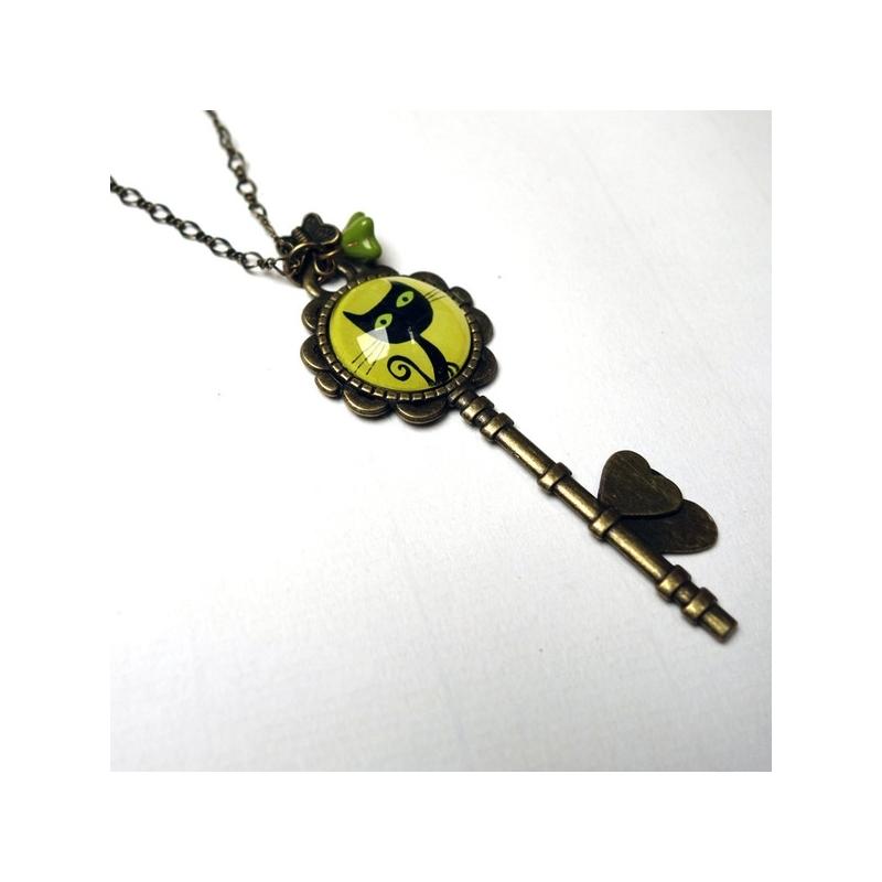 Collier clé Voltaire