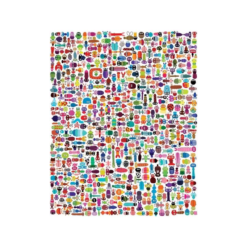 Affiche 40x50 378 insectes et 2379 pattes