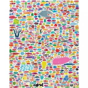 Affiche 40x50 634 poissons