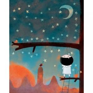 Affiche 40x50 Cueillir une étoile