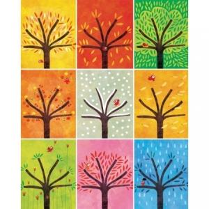 Affiche 40x50 Neuf arbres