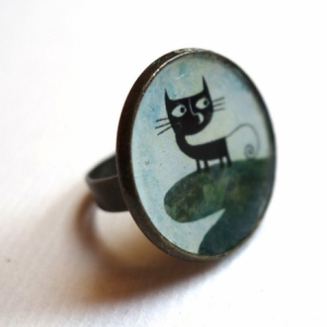 Bague Le chat Malo