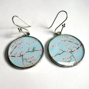 Boucles d'oreilles Sakura