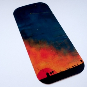 Carte panoramique Crépuscule