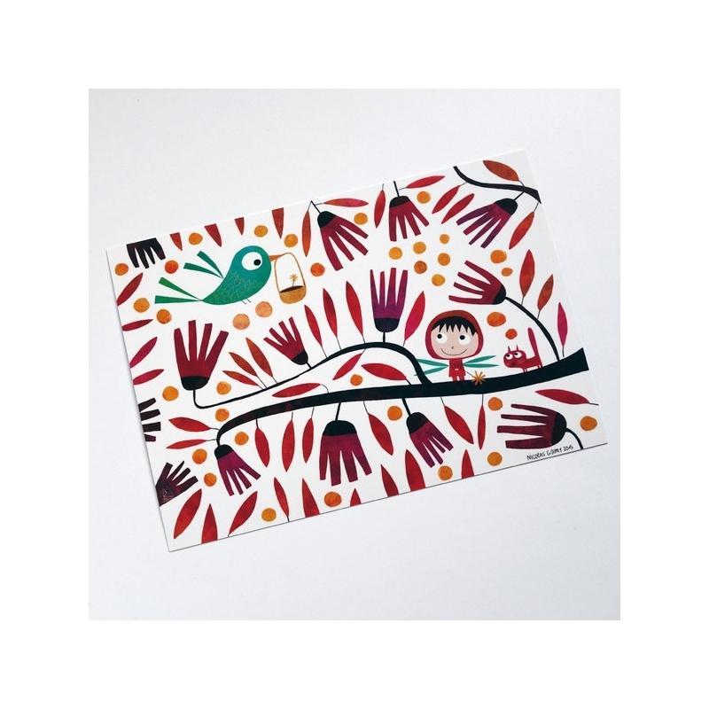 Carte postale Petite fée