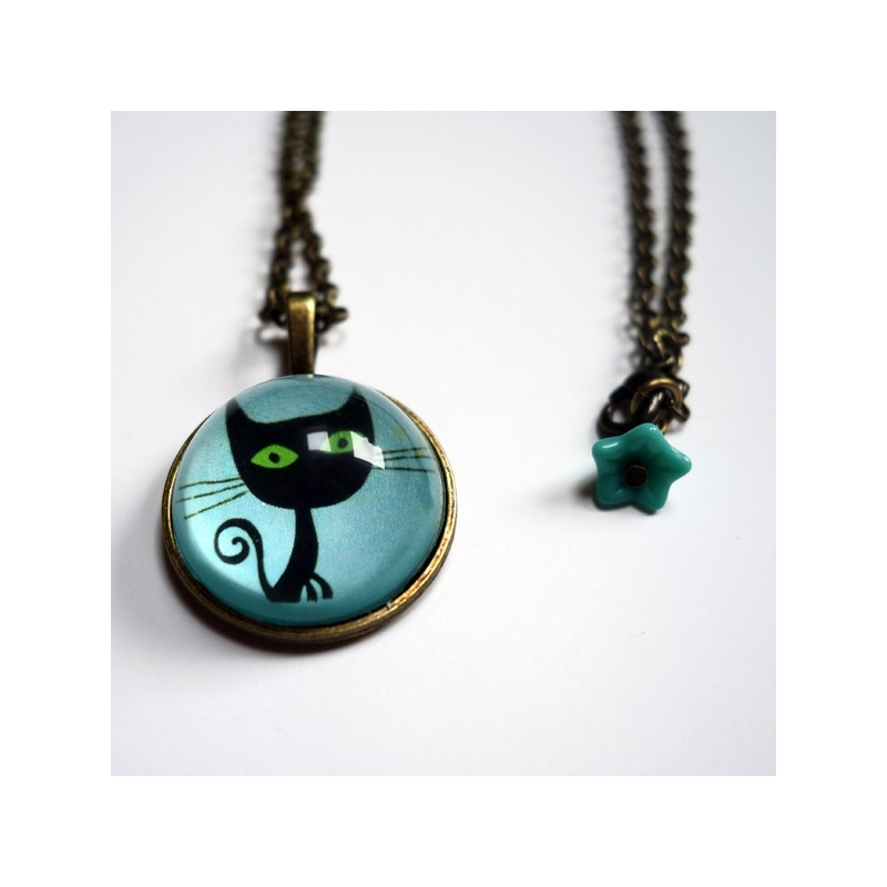 Collier Le chat Lothaire
