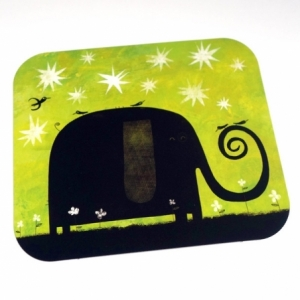 Carte d'art L'éléphant