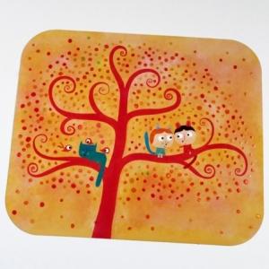 Carte d'art L'arbre des amoureux