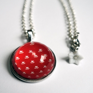 Round necklace Vermilion