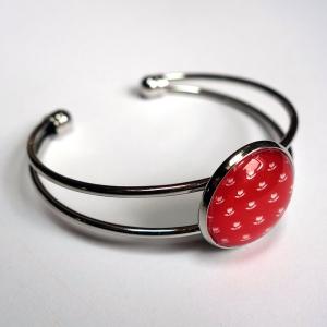 Cuff bracelet Vermilion