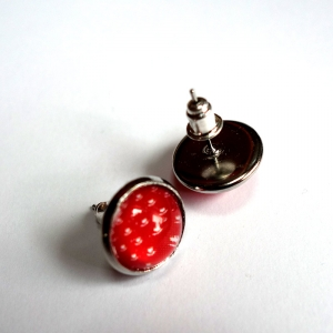 Earrings Vermilion