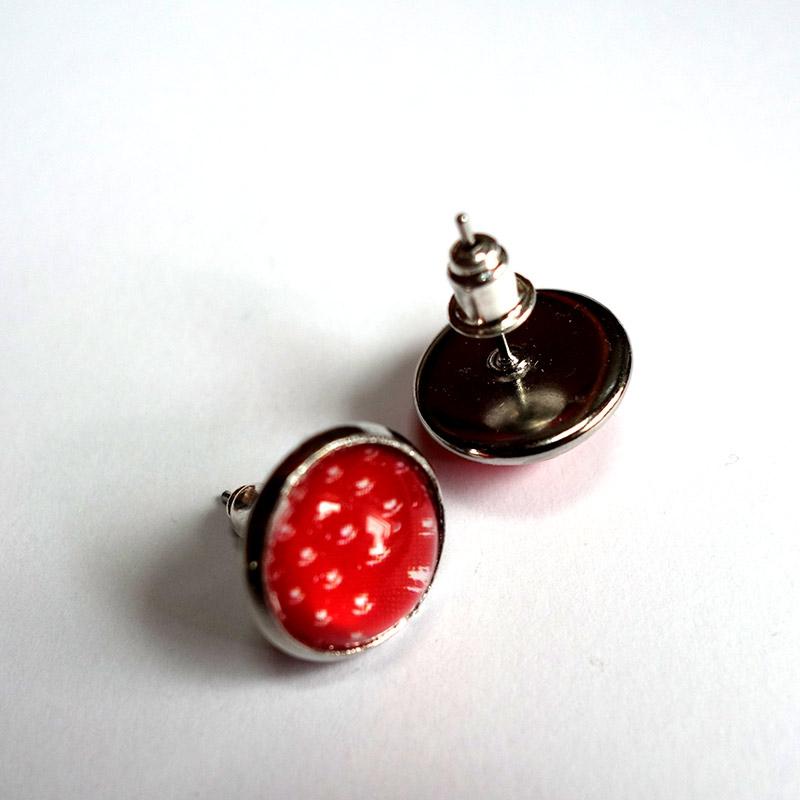 Earrings Vermilion