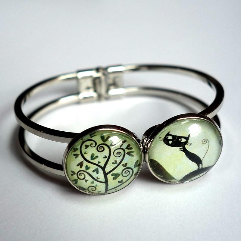 Bracelet double Arbre à spirales