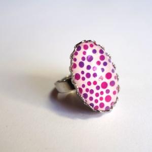 Ring Violet dots
