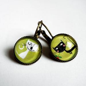 Boucles d'oreilles Albertin et Albertine