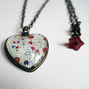 copy of Heart necklace Albertin