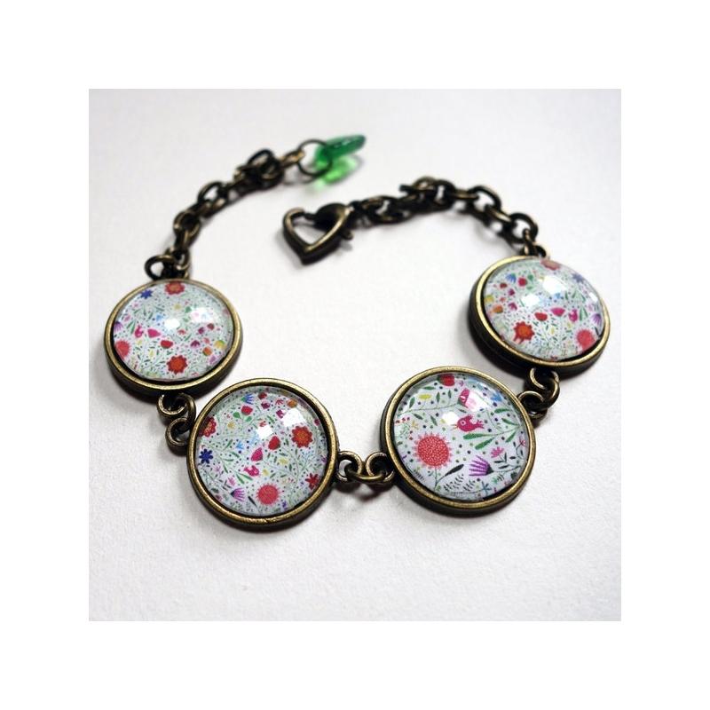 Bracelet Bouquet de fleurs