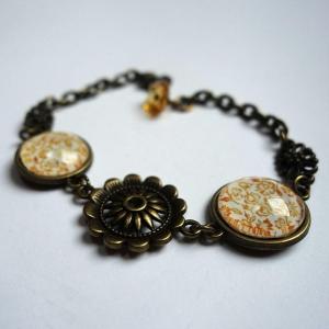 Bracelet Yellow roses
