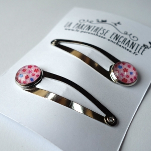 Couple of hairpins Strawberries