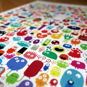 Small print 244 monsters
