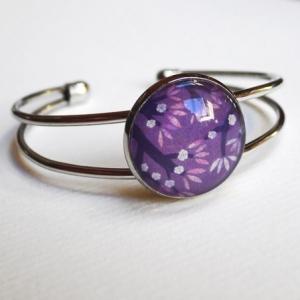 Bracelet Cerisiers mauves