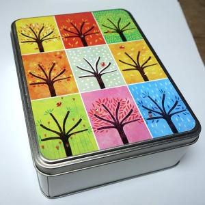 Boîte à goûter et à secrets Neuf arbres
